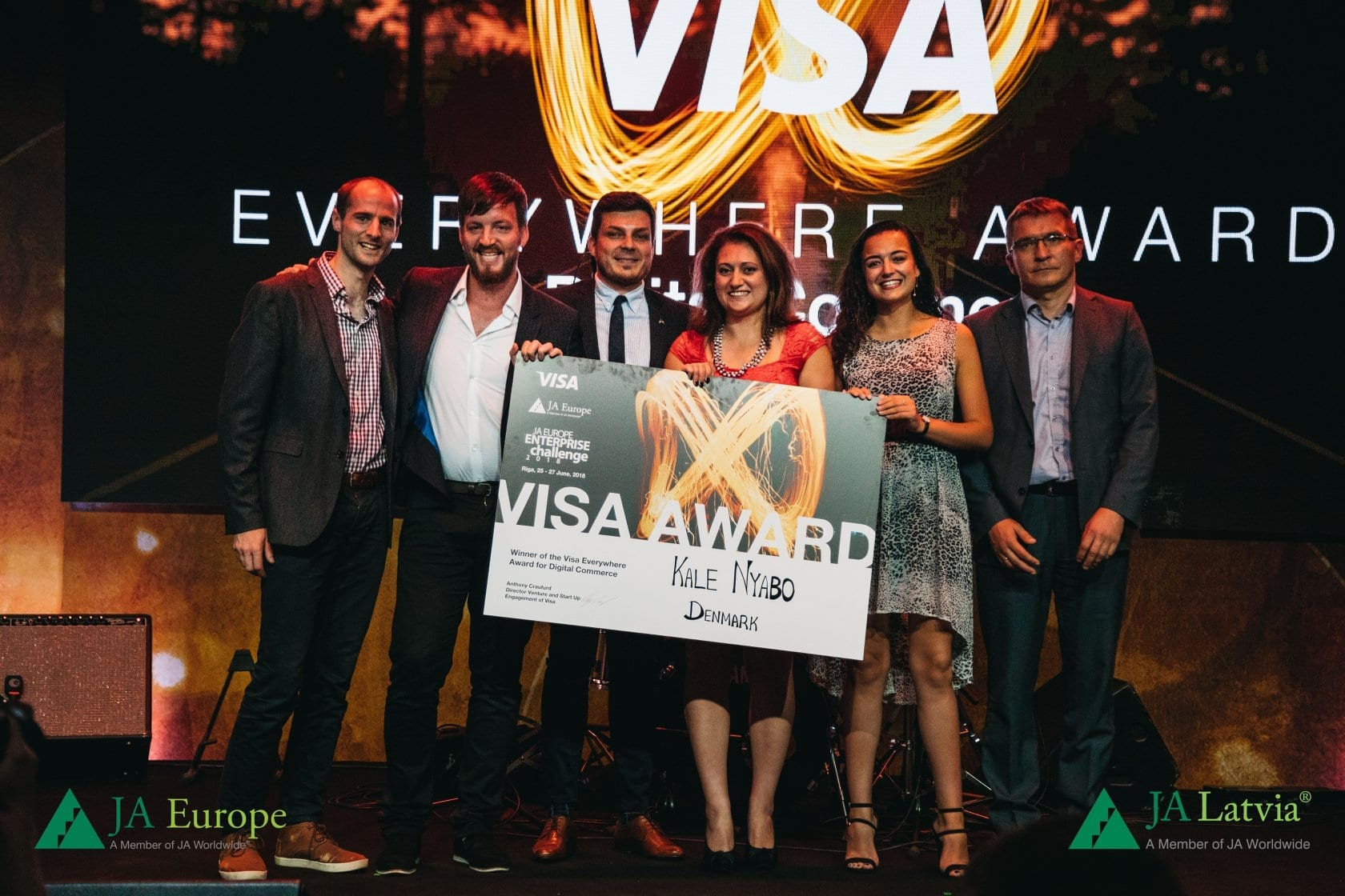 Kale Nyabo – Winners of the VISA Everywhere Award